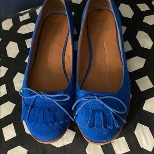 DV by Dolce Vita Royal Blue Oxford Style Flats